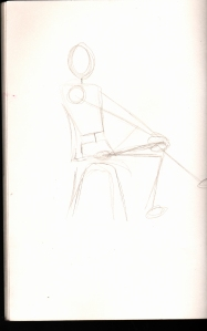 Human figure drawing 5